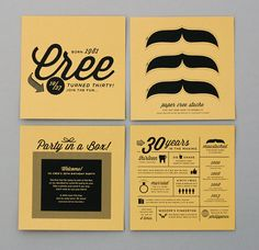 cree jones birthday -05 by Amanda Jane Jones, via Flickr #packaging