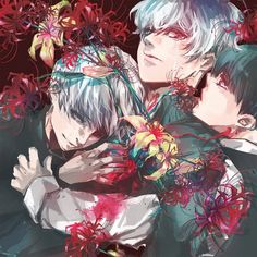 Ken Kaneki,White Ken Kaneki and Haise Sazaki collection