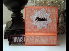 Halloween Crafts, Holiday Crafts, Friday Video, Candy Crafts, Bottle Bag, Treat Holder, Treat Bags, Craft Videos, I Card