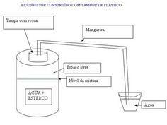 Mundo orgânico: Como construir um biodigestor com tambor de plástico