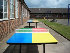 Table Tennis Tables, Outdoor Table Tennis, AMV Playgrounds.