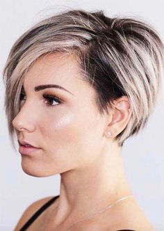 51 Edgy e Rad Short Undercut penteados para mulheres Edgy Bob Hairstyles, Trending Hairstyles, Short Hairstyles For Women, Hairstyles With Bangs, Straight Hairstyles, Hairstyles 2016, Hairstyle Ideas, Short Hair For Women, Curly Pixie Haircuts