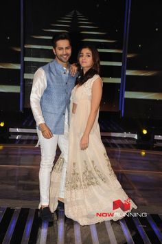 Alia Bhatt and Varun Dhawan snapped on the sets of 'Dil Hai Hindustani'