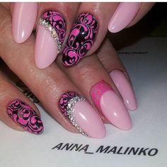 """ by @anna_malinko  #nails #nail #fashion #style #TagsForLikes.com #cute #beauty #beautiful #instagood #pretty #girl #girls #stylish #sparkles #styles…"""