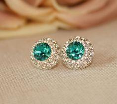Swarovski Diamond Earrings, Swarovski, Jewelry, Fashion, Moda, Jewlery, Jewerly, Fashion Styles, Schmuck