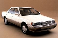 1990 Lexus ES250 - the first Lexus, basically identical to the late 80s Camry