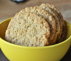 Crispy Oatmeal Cookies America S Test Kitchen
