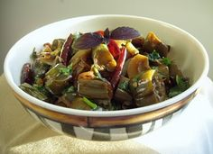 Thai flavored Spicy Eggplant