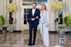 Ryan Reynolds and Blake Lively @  the State House Dinner held in honour of the Canadian Prime Minister, Justin Trudeau & his wife