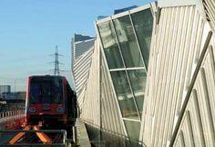 Stratford DLR Station Exterior facade Photo courtesy SMC Alsop