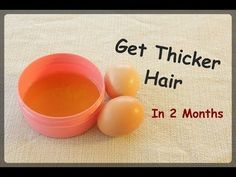 Thin To Thick Hair Magic, Grow Your Hair Fast With 3 Ingredients - Healthy Living Team