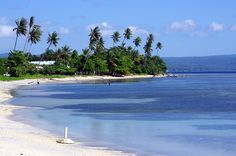 The idealic Kokopo Beach East New Britain, Papua New Guinea