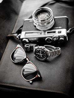 Leica + Rolex + Wayfarer