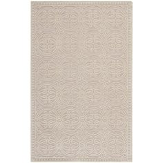 Safavieh Handmade Moroccan Cambridge Light Pink Wool Rug - Overstock.com - 6ft round - $148.76, free shipping  For Josh's room.