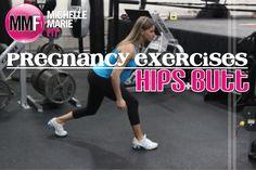 #Pregnancy #Exercises For The Hips & Butt.