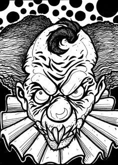 03e89e7c86f14c29f4345f20d81ec498 scary clowns evil clowns