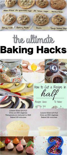 The ULTIMATE Baking Hacks