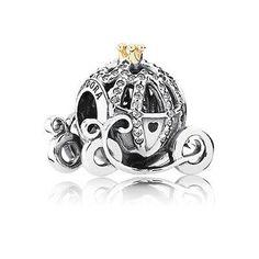 Disney Belle Tiara Silver Dangle Charm