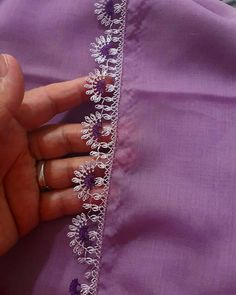Needle Lace, Advertising Design, Kara, Simple Designs, Crochet, Tatting, Needlework, Embroidery Designs, Diy And Crafts