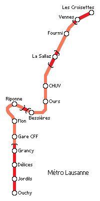 Métro Lausanne