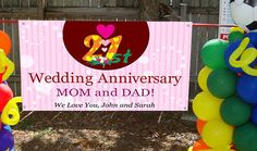 If you're planning a wedding banners & signs for Hamilton-Halton & Niagara Wedding Shows or events on 8th March 2016. Discover a Unique Way to Commemorate Lasting Love with Online Design Tool Here: Anniversary Banner, Wedding Anniversary, Outdoor Vinyl Banners, Wedding Banners, 8th March, Wedding Show, Banner Printing, Custom Banners, Tool Design