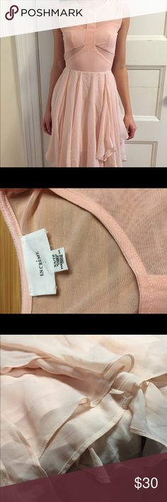 Little Pink Dress Little creamy pink dress from En Creme. The skirt has many layers! En Créme Dresses