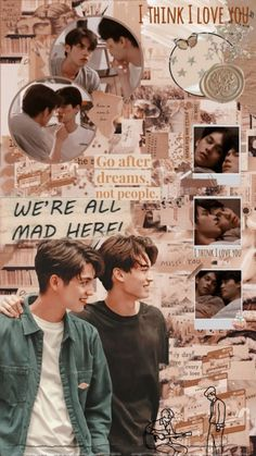 Wallpaper 2gether the séries   — Dont repost  — like and reblog if you save and use Cr: @/qironghx Helle Wallpaper, Astro Wallpaper, Bright Wallpaper, Boys Wallpaper, Couple Wallpaper, Aesthetic Iphone Wallpaper, Aesthetic Wallpapers, Mickey Mouse Wallpaper Iphone, Thailand Wallpaper