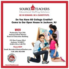 Jackson! Join us for Source4Teachers' Open House on 9/25 at Jackson School District Board of ED building! RSVP now!