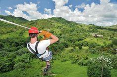 Zip Line Adventures Excursion Punta Cana best tour Dominicain Republic
