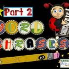 Word Phrase sets are a great tool for students to practice reading common phrases in the English language. Have the students practice reading the 8...