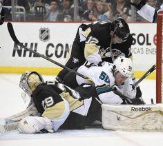 March 29, 2015 — Penguins 3, Sharks 2, SO (Photo: Chaz Palla  |  Trib Total Media)