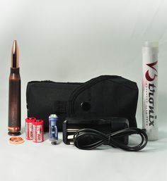 V3 .50 Caliber Bullet Mod - Aluminum - Copper Brush - V3tronix - Advanced Vape Tech