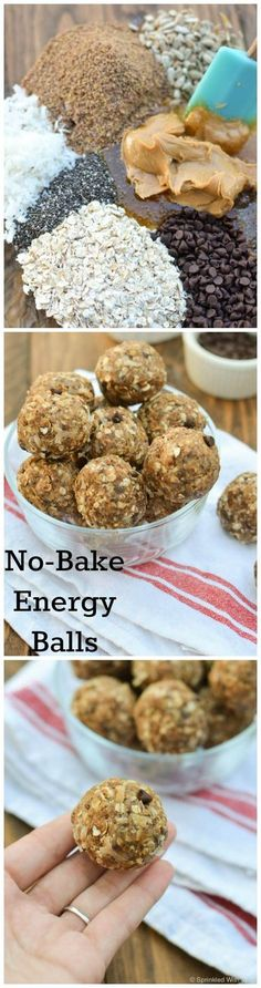 no-bake protein packed energy balls for a delicious on-the-go snack.
