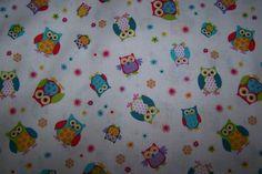 J.Swafing Hooray Baumwoll Patchwork Quilt mini Eulen Owls Uhu Blumen Meterware
