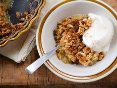 Get Virginia Willis's Brown Sugar Apple Crisp Recipe from Food Network