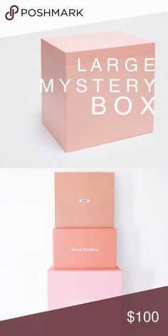 • L mystery box • A box of goodies for you - from me 🙃 comment your preferences / sizes. This box will contain more high end brand items than my other mystery box.   ➕ Listed / unlisted tops, rompers, dresses, jeans, shorts, skirt, jacket, accessory, jewelry, bags, shoes, makeup {new}, intimates.  ➕ Brands: free people, theory, equipment, joie, express, a/x, madewell, BoG, Vince, tibi + more ➕ Sizes: (clothing) XS, S, M, L (shoes) 5 - 6. All sales final. Free People Tops