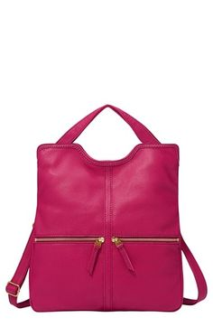 Fossil 'Erin' Foldover Tote available at #Nordstrom