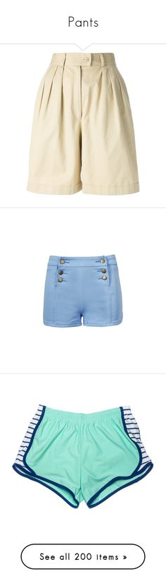 """""""Pants"""" by queen-of-rock-n-roll ❤ liked on Polyvore featuring shorts, bottoms, pants, kenzo, high-waisted shorts, highwaist shorts, high waisted shorts, vintage high waisted shorts, short and short shorts"""