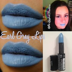 Earl Grey Lips Blue Lipstick, Nyx Lipstick, Eyeshadow, Nyx Macaron, Macarons, Beauty Corner, Earl Gray, War Paint, Nyx Cosmetics