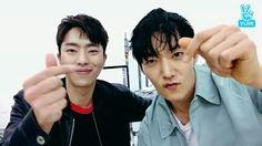 Choi Jin Hyuk and Yoon Hyun Min on VLive #choijinhyuk