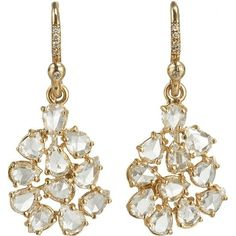 Irene Neuwirth   Diamond Collection Diamond Mixed Shape Earrings #ireneneuwirth #diamondearrings #luxury