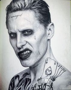 Find images and videos about jared leto, joker and harley quinn on We Heart It - the app to get lost in what you love. Art Du Joker, Image Joker, Harley Quinn Et Le Joker, Brust Tattoo, Joker Cosplay, Gotham City, Halloween Makeup, Marvel Dc, Sketches