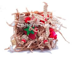 Strawberry Busy Basket from Things for Wings Original Bird and Parrot Toys