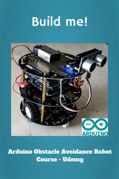 Build your first Arduino robot!  This Udemy course will show you step-by-step how to assemble and test your very own mobile robot.  Add this one to your wishlist!