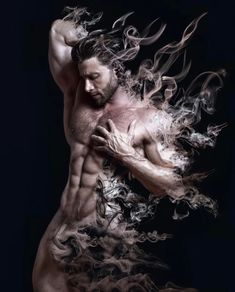 An other beautiful pic, a beautiful artwork, took by the talented Fantasy Art Men, Art Of Man, Lucky Man, Hommes Sexy, Gay Art, Beautiful Artwork, Magick, Male Models, Sexy Men