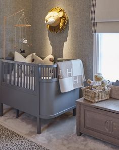 One of the very first things I did when I found out we were having a boy back in January was start designing the nursery- I had designed… Baby Bedroom, Baby Boy Rooms, Kids Bedroom, Location Meublée, Cot Bedding, Nursery Room Decor, Bedroom Decor, Cheap Home Decor, House Design