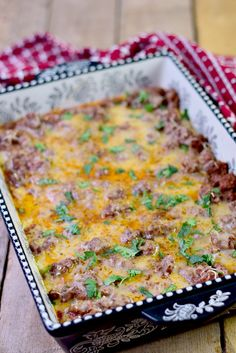 This low-carb Italian Beef Bake recipe is rich, and creamy, with delicious Italian flavors. It is so easy to make it will quickly become a weekday family meal fave! #beef #keto #lowcarb #lchf #italian #easy #recipe #casserole | bobbiskozykitchen.com Lchf, Keto, Italian Beef, Family Meals, Baking Recipes, Casserole, Low Carb, Easy, Food