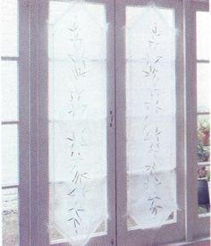 tcnicas de instalacin y tipos de visillos