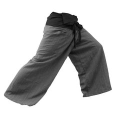 THAICOMPLEX 2 TONE Thai Fisherman Pants Yoga Trousers FREE SIZE Plus Size Cotton ** Click image for more details.(This is an Amazon affiliate link)