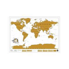 Carte du Monde à Gratter Scratch Map MANTA